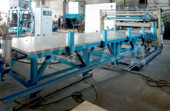 Avangard-LSP-2 line for production of sip panels