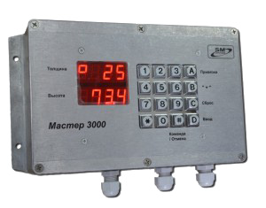 Master-3000 electronic scale stick