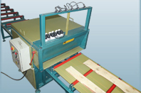 Multiple saw edge-trimming machine SDK-6